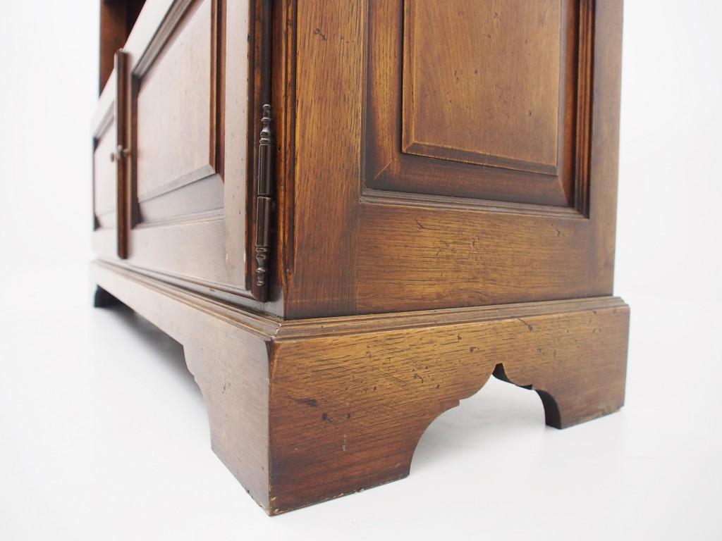 アンティーク家具 アンティーク イギリスアンティーク オープンブックケース ブックケース ブックシェルフ 本棚 収納 ツインアンティークス
