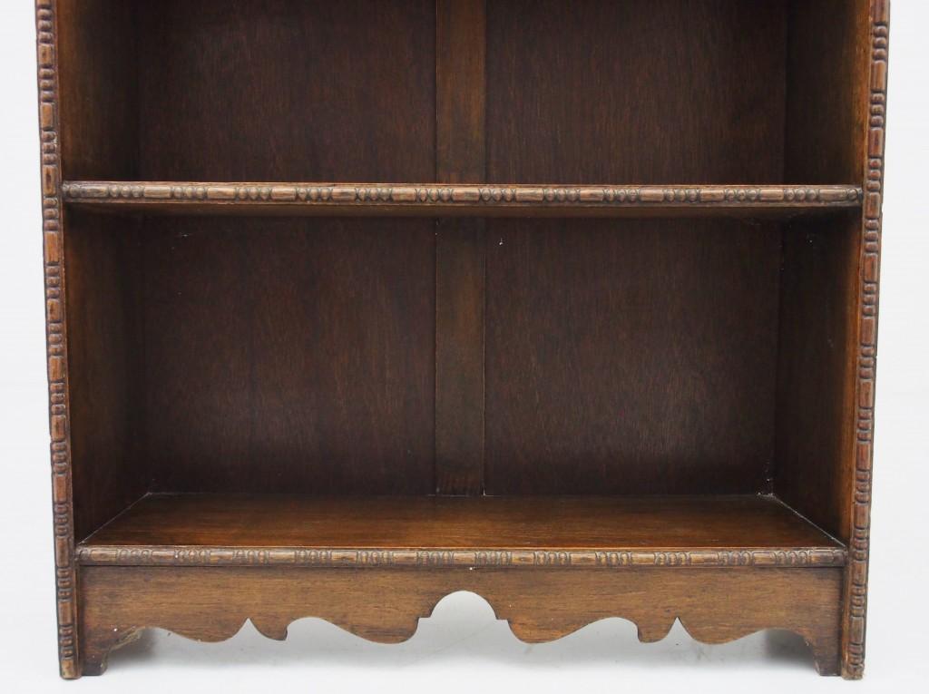 アンティーク家具 アンティーク ブックケース オープンブックケース ブックシェルフ ディスプレイ ツインアンティークス